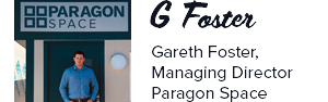Quote from Gareth Foster - Managing Director