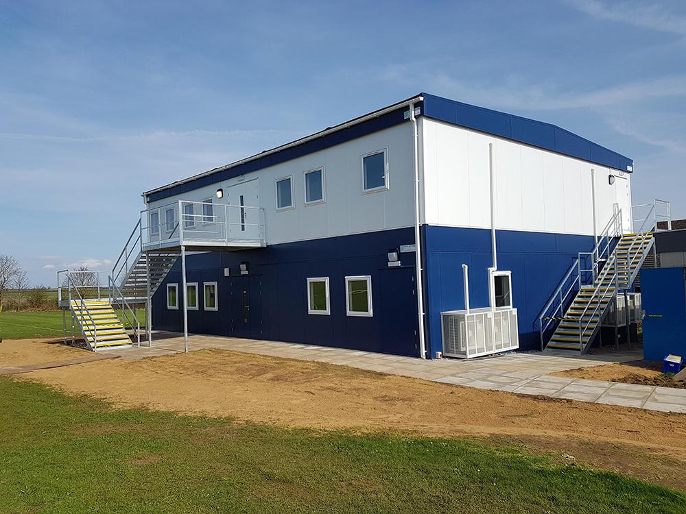2-storey modular classroom facility