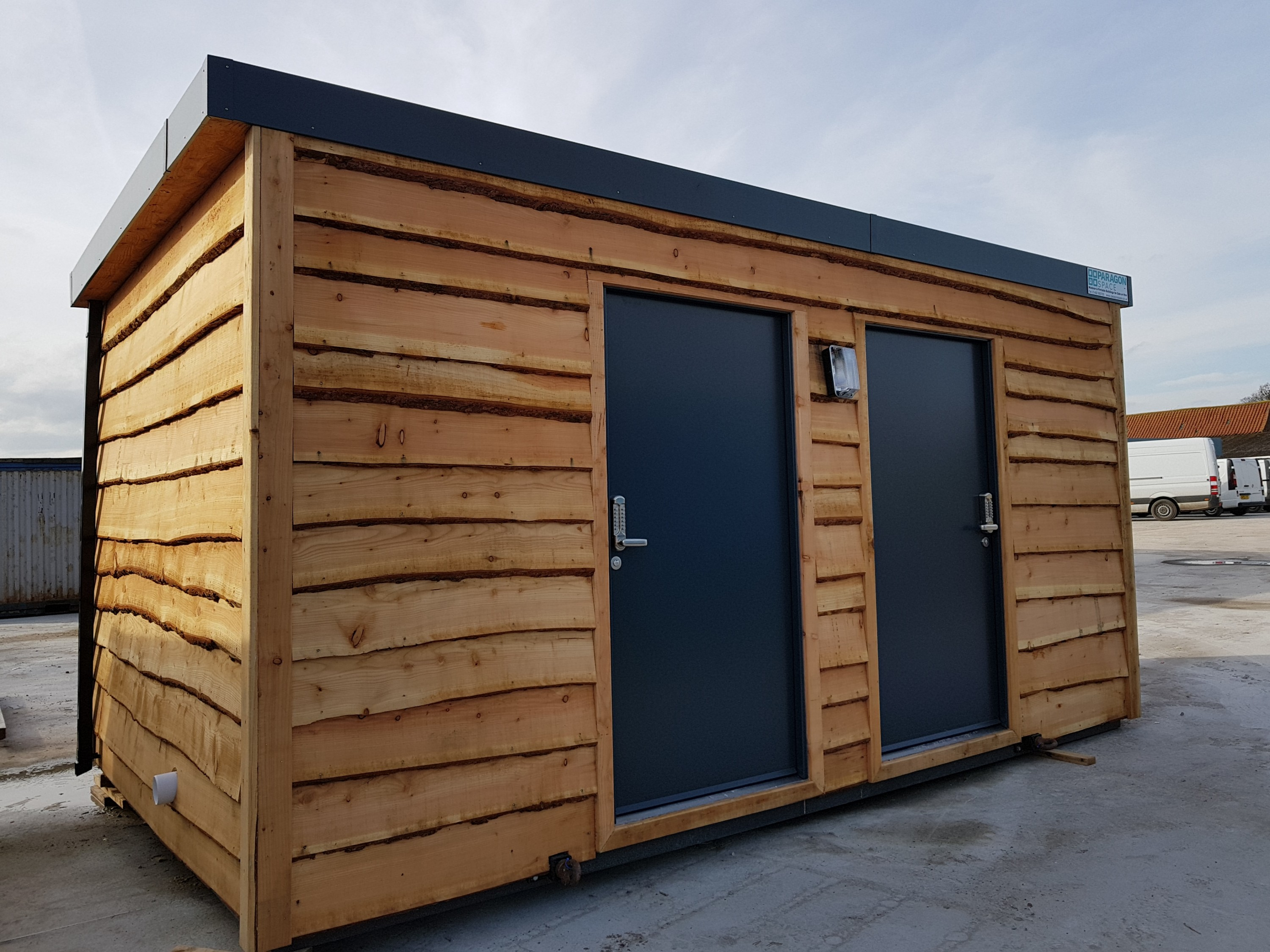 Campsite Showers Toilets Washroom | Paragon Space Modular Buildings UK